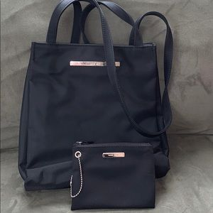 Nine West tote bag and wallet